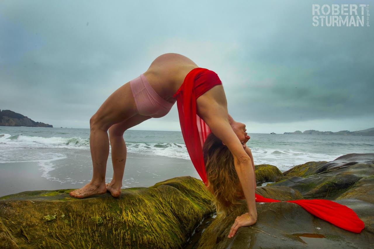 Pregnant Yoga Shoot with Robert Sturman